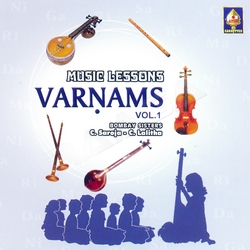 Music Lessons Varnams - Vol 1