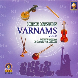 Music Lessons Varnams - Vol 2