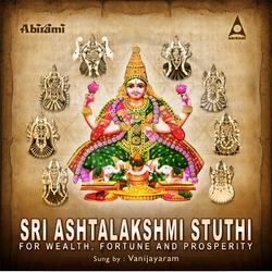 Sri Astalakshmi Stuthi