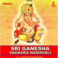 Sri Ganesha Sahasra Namavali