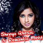 Shreya Ghosal In Romantic Mood