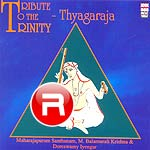 tribute to the trinity - thyagaraja